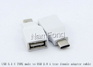 USB TYPE C TO USB AF 2.0转接头,USB 2.0 TO 3.1 cable