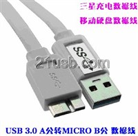 USB 3.0 AM TO MICRO 5P 3.0 BM CABLE ,SlimPort HDMI 母 to MICRO ,三星S5手机充电线
